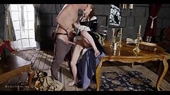 Aidra Fox has sex in cosplay